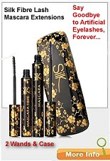 Silk Fibre Lash Mascara Extensions KIT - comes in a gorgeous hard case.