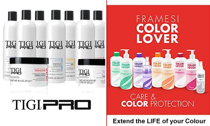 TIGI Pro range now in stock