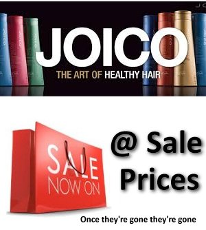 Find out more about the JOICO SALE HERE...