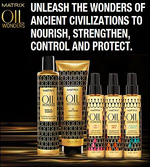 Find out more about MATRIX Oil Wonders range HERE...