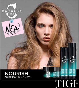 TIGI's Catwalk Oatmeal and Honey range is back...