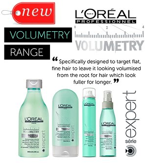 Find out more about the Loreal Serie Expert Volumetry range HERE...